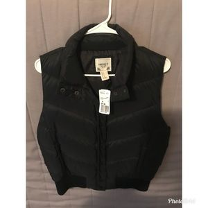 Black thick vest